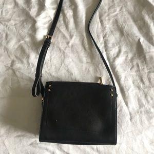 A New Day black square mini bag